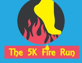 "#2 for Need a fake logo for the ""The 5K Fire Run"" where people race on hot coals and fire in their bare feet by writeanddesign11"