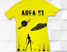 #3 for AREA 51 Tshirt design af Shtofff
