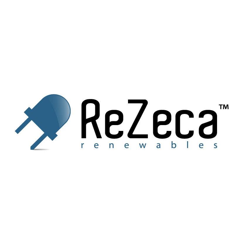 Kilpailutyö #                                        12                                      kilpailussa                                         Logo Design for ReZeca Renewables