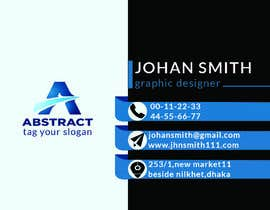 #32 untuk Make business card for my company oleh wazebul