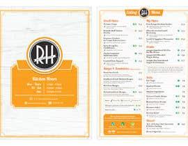 #34 for I need a graphic designer to re-design our menu af theroslans1st