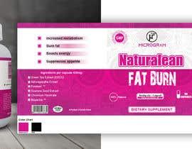 Nro 15 kilpailuun Fat Burner Supplement label käyttäjältä sanu0179