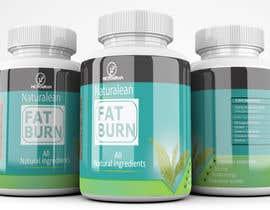 #25 para Fat Burner Supplement label por saminaakter20209