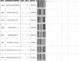 Nro 31 kilpailuun Excel - convert numbers into scanable UPC A & E käyttäjältä IvanBlemon