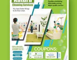 Nro 26 kilpailuun Flyer for my cleaning business käyttäjältä piashm3085