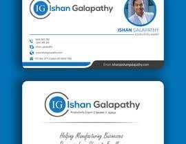 #38 untuk business card design oleh DesignerSohan