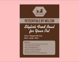 #7 for Packaging Label Design af atidoria