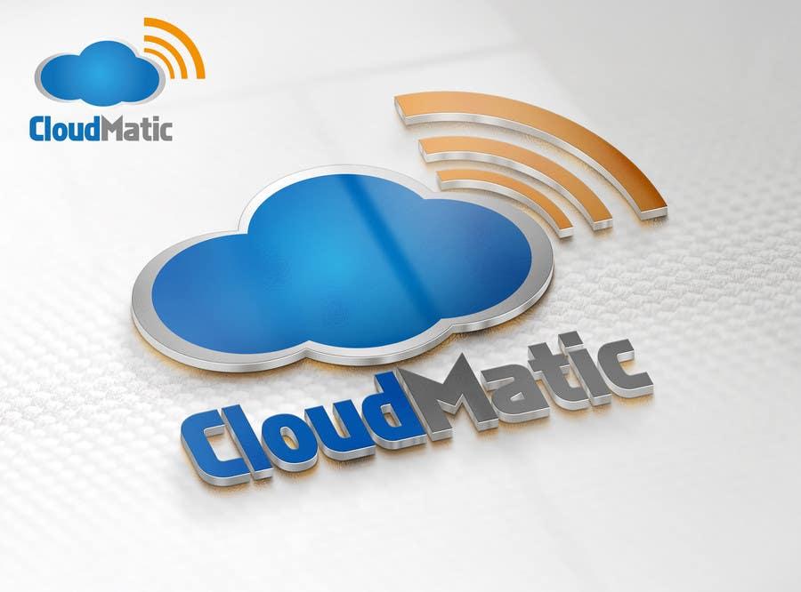 Proposition n°                                        53                                      du concours                                         Logo Design for CloudMatic