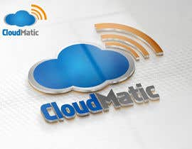 nº 53 pour Logo Design for CloudMatic par RONo0dle