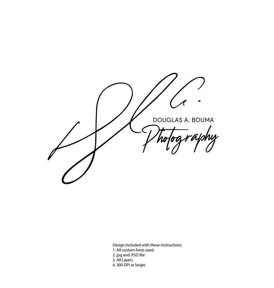 Kilpailutyö #76 kilpailussa Create a Photography Signature
