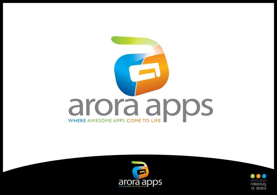 Inscrição nº                                         62                                      do Concurso para                                         Logo Design for Arora Apps
