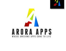 nº 33 pour Logo Design for Arora Apps par Xiuhcoatl