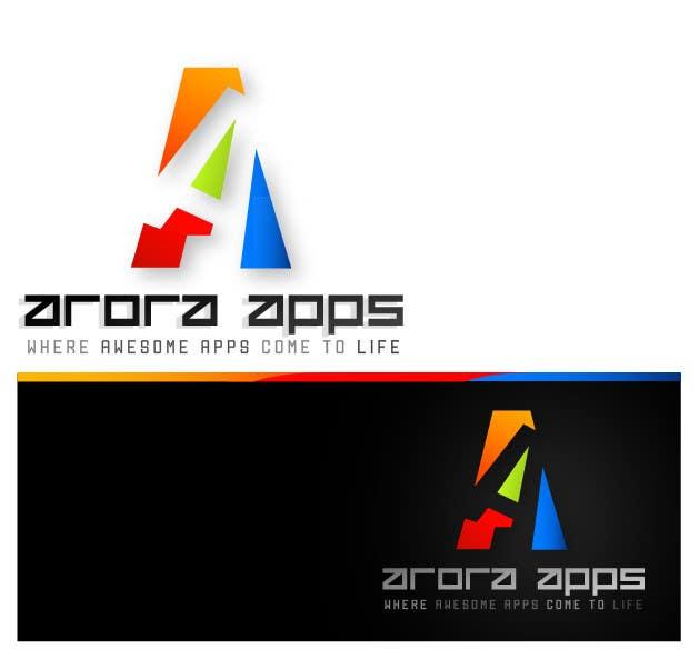 Inscrição nº                                         57                                      do Concurso para                                         Logo Design for Arora Apps