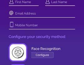 nº 9 pour Design screens for biometric enrolment par hustydesign