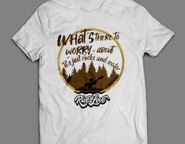 #73 untuk Whitewater style t-shirt design oleh nabilinversia