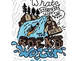 #10 untuk Whitewater style t-shirt design oleh uda89