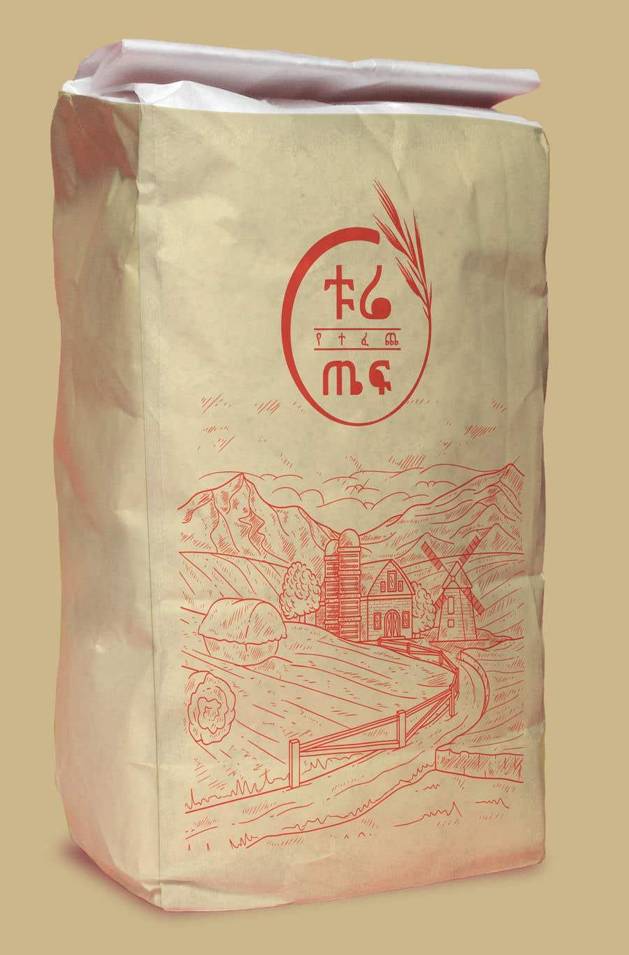 Penyertaan Peraduan #63 untuk Packaging for Teff flour.