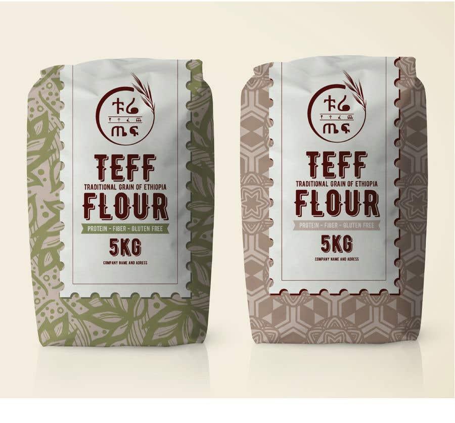Penyertaan Peraduan #57 untuk Packaging for Teff flour.