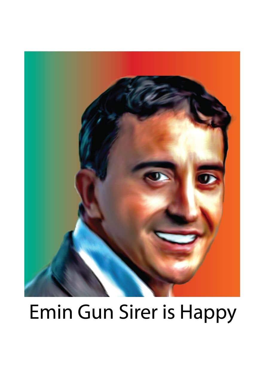 Kilpailutyö #7 kilpailussa Create a Telegram Sticker for Emin Gun Sirer