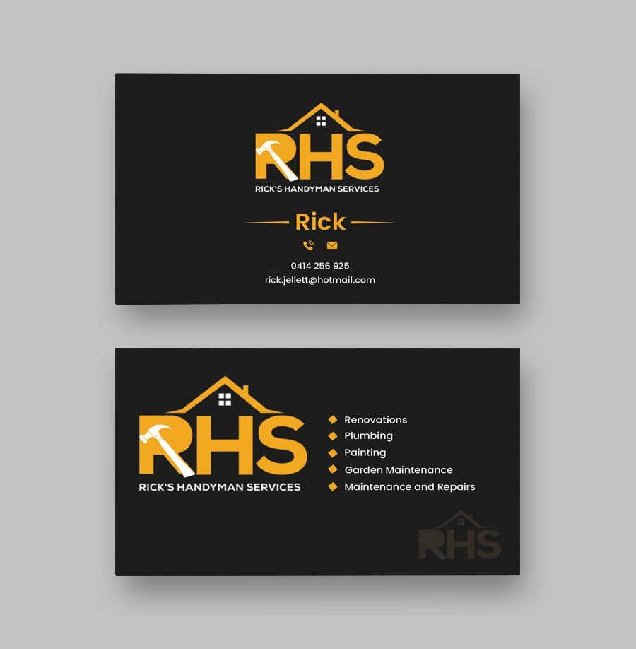 Kilpailutyö #153 kilpailussa Logo and business cards
