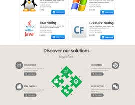 nº 47 pour Website Design for webhosting company par mughikrish