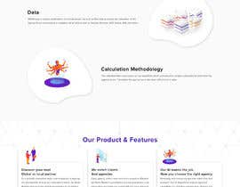 #3 for UX redesign of homepage into a 'landing page' by saidesigner87