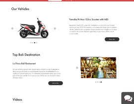 #66 cho User Interface design (landing page design) - for a motorcycle rental company bởi simpion