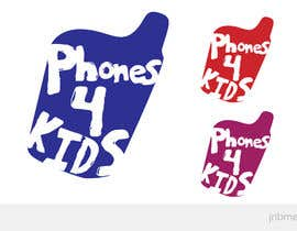 nº 47 pour Logo Design for Phones4Kids par jnbmedia