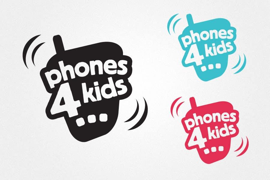 Participación en el concurso Nro.                                        80                                      para                                         Logo Design for Phones4Kids