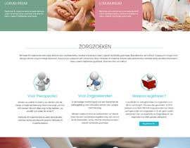 #2 untuk Design a homepage for zorgzoeken.nl (care seeker) oleh ngscoder