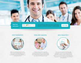 #19 untuk Design a homepage for zorgzoeken.nl (care seeker) oleh Ankur0312