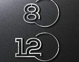 #29 cho Design big numbers (CAD) to be made in metal bởi lianna84