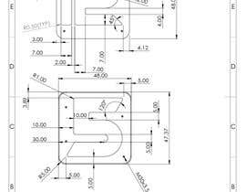 #31 cho Design big numbers (CAD) to be made in metal bởi rozerbagh456