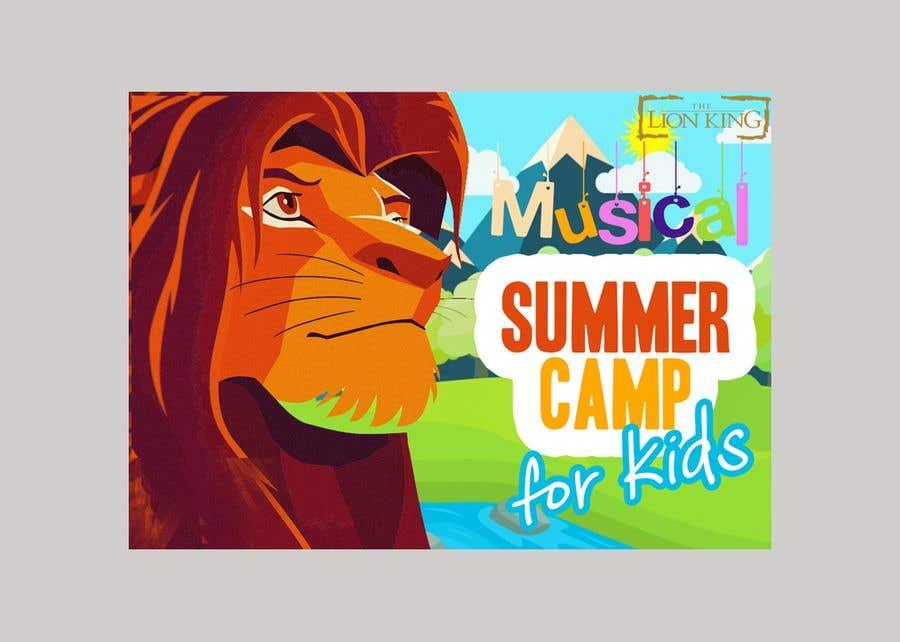 Penyertaan Peraduan #2 untuk test shot lion king musical summer camp