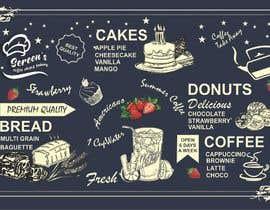 #64 untuk wall paper design for my coffee shop and beakry oleh logan000378