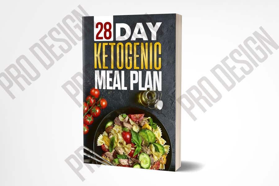 "Конкурсная заявка №5 для create an ebook cover design for my ""28 Day Ketogenic Meal Plan"" in 3D"