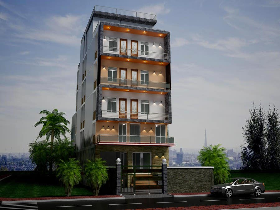Gallery for gt luxury apartments exterior