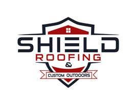 nº 142 pour Shield Roofing Logo par sojibdesigner8