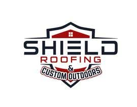 nº 127 pour Shield Roofing Logo par nayangazi987
