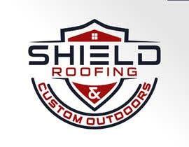 nº 81 pour Shield Roofing Logo par SastrikaArdaya