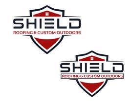 nº 86 pour Shield Roofing Logo par rupakdeshi137