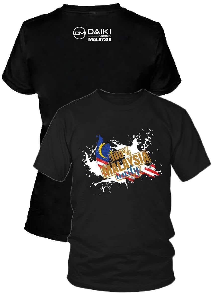 Kilpailutyö #130 kilpailussa Creative Round Neck Design T-shirt to sell ( Malaysian )