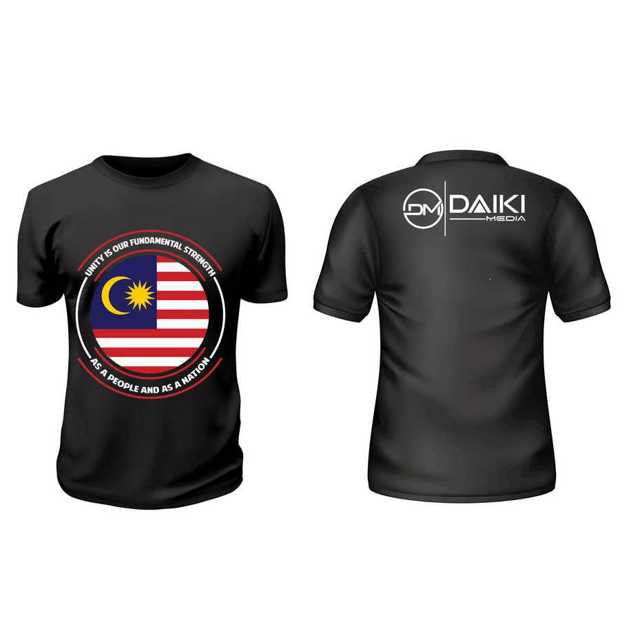 Proposition n°146 du concours Creative Round Neck Design T-shirt to sell ( Malaysian )