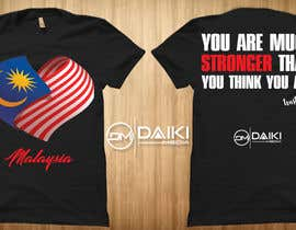 #158 for Creative Round Neck Design T-shirt to sell ( Malaysian ) by peeyalrahman