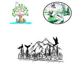 #100 para 3 images bird on a tree por masudkhan8850