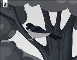 #37 para 3 images bird on a tree por ashfaqulhuda