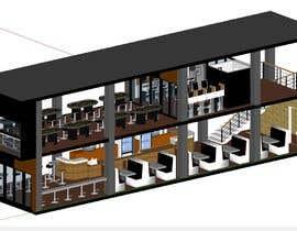 #4 for Internet Cafe Baccarat Game Online Interior & Exterior 3D Rendering Design by arqjose8