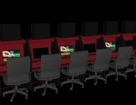 #13 for Internet Cafe Baccarat Game Online Interior & Exterior 3D Rendering Design by arqjose8