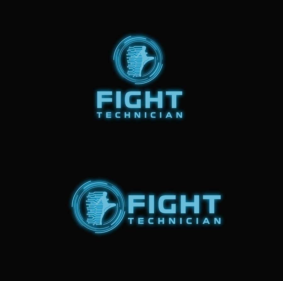 Penyertaan Peraduan #153 untuk Tech Themed Fight Blog Logo Design