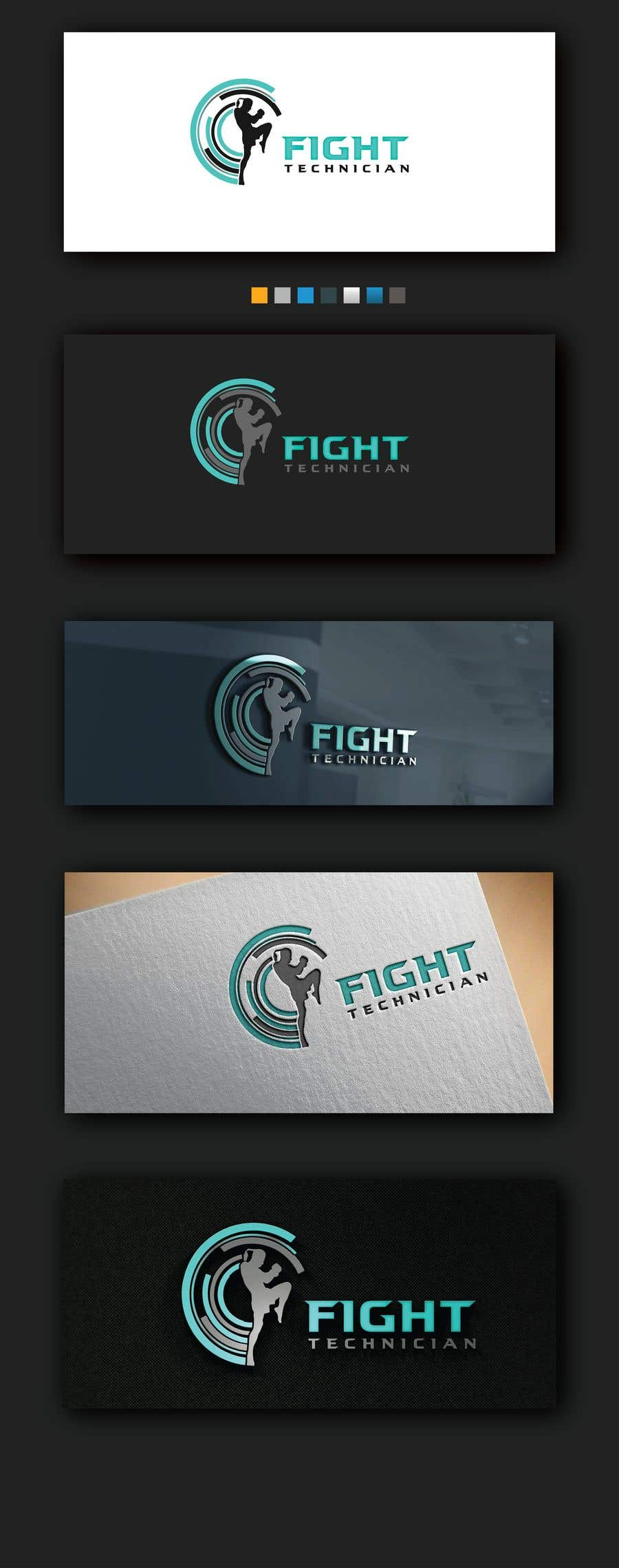 Penyertaan Peraduan #108 untuk Tech Themed Fight Blog Logo Design